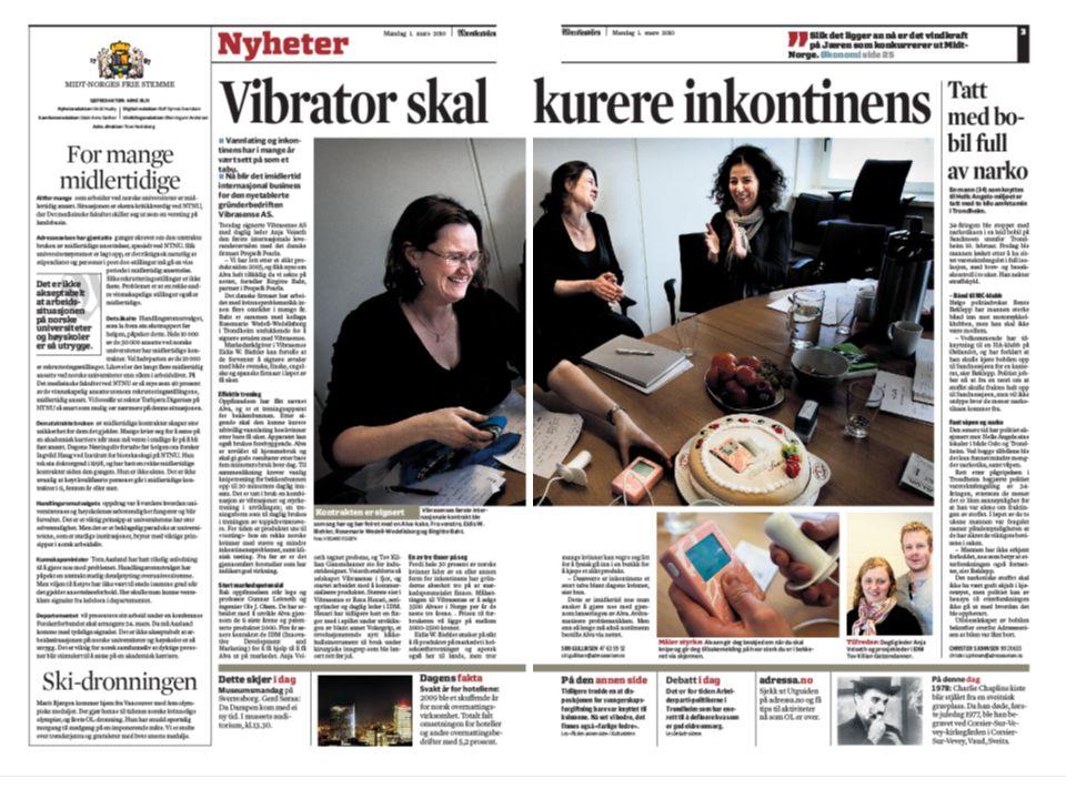 Urinlekkasje kan opereres Nå kan Åsa Tønnesen løfte og klemme datteren uten problemer. NRK PULS