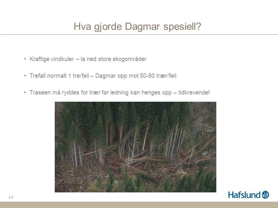 Hva gjorde Dagmar spesiell.