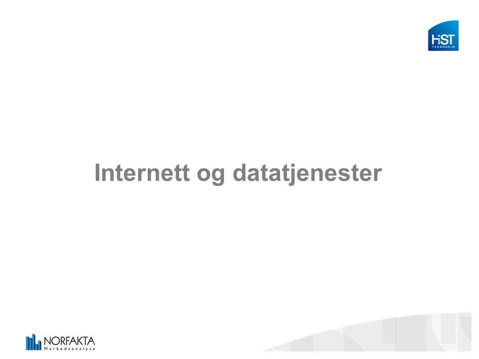 Internett og datatjenester
