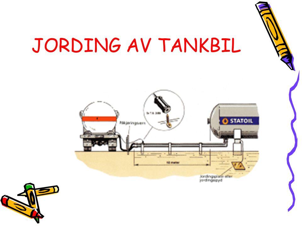 JORDING AV TANKBIL