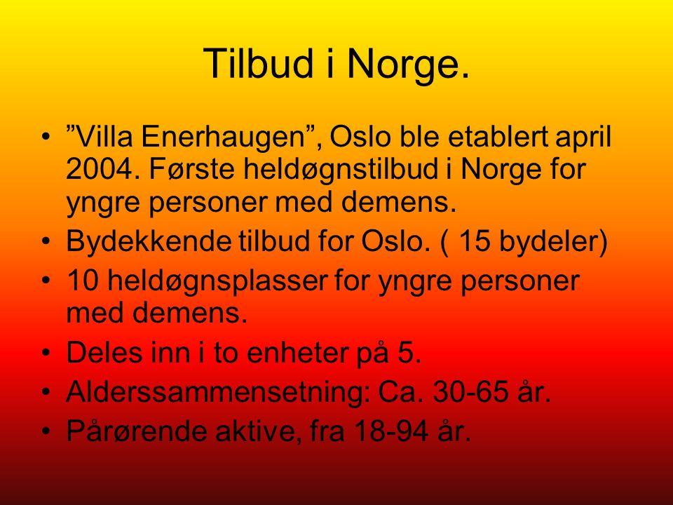 Tilbud i Norge. Villa Enerhaugen , Oslo ble etablert april 2004.