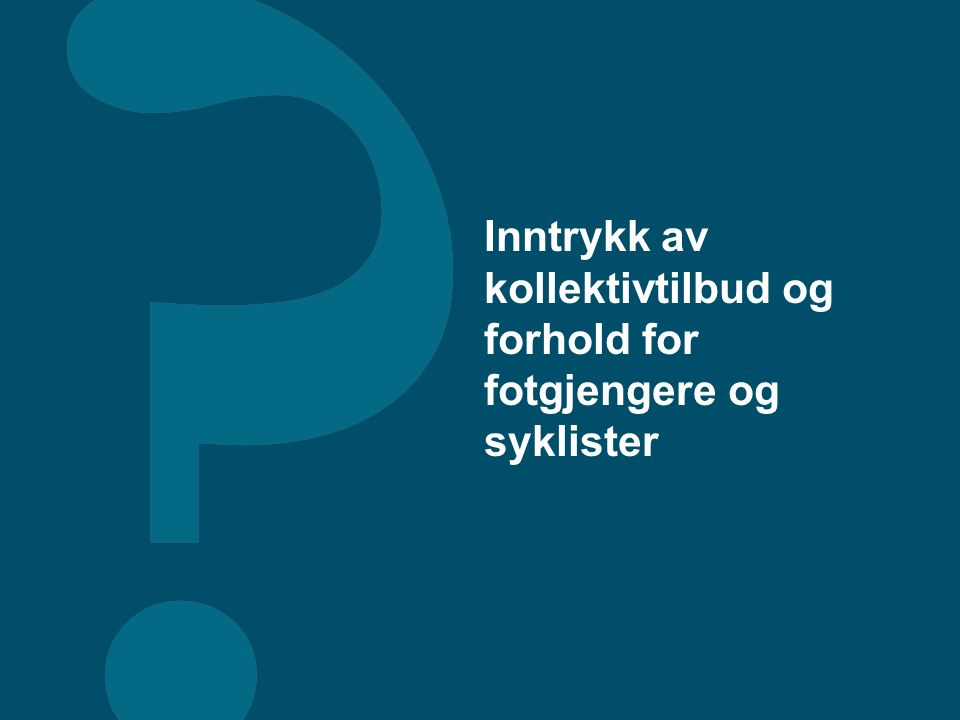 © Synovate 2011 48 Mener du at høye parkeringsavgifter bør benyttes i din hjemby for å unngå mye sentrumstrafikk, eller mener du det er viktigst å få mange billige eller gratis parkeringsplasser sentralt i byen.