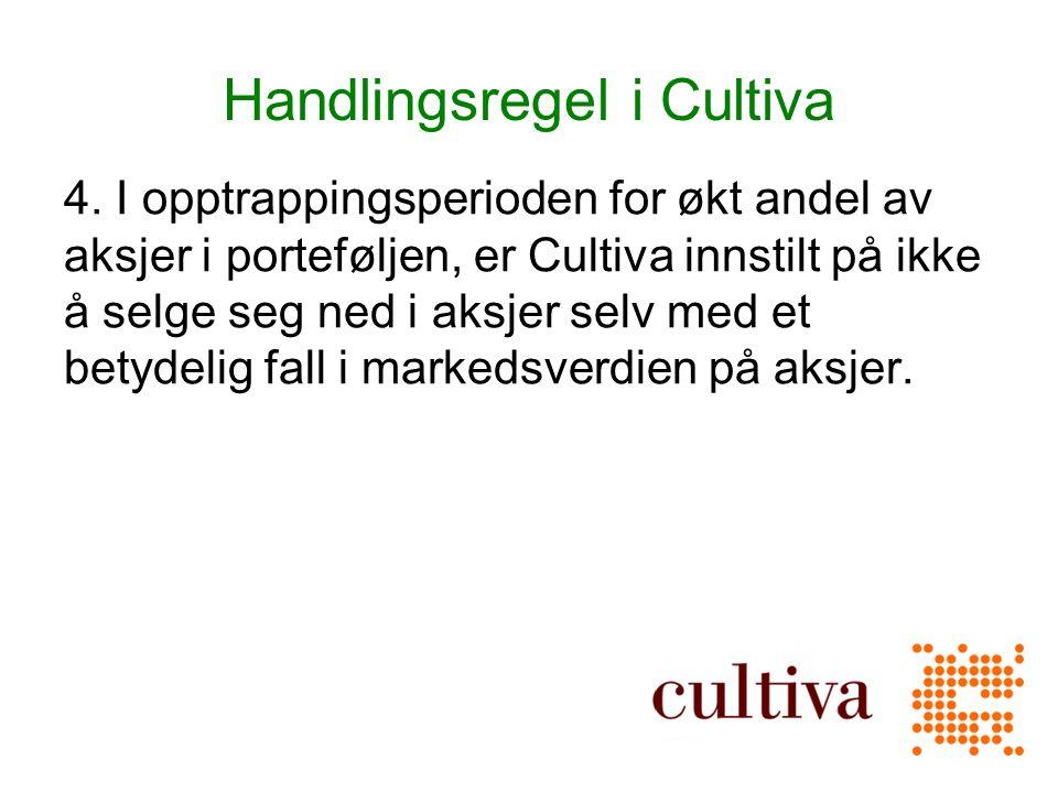 Handlingsregel i Cultiva 4.