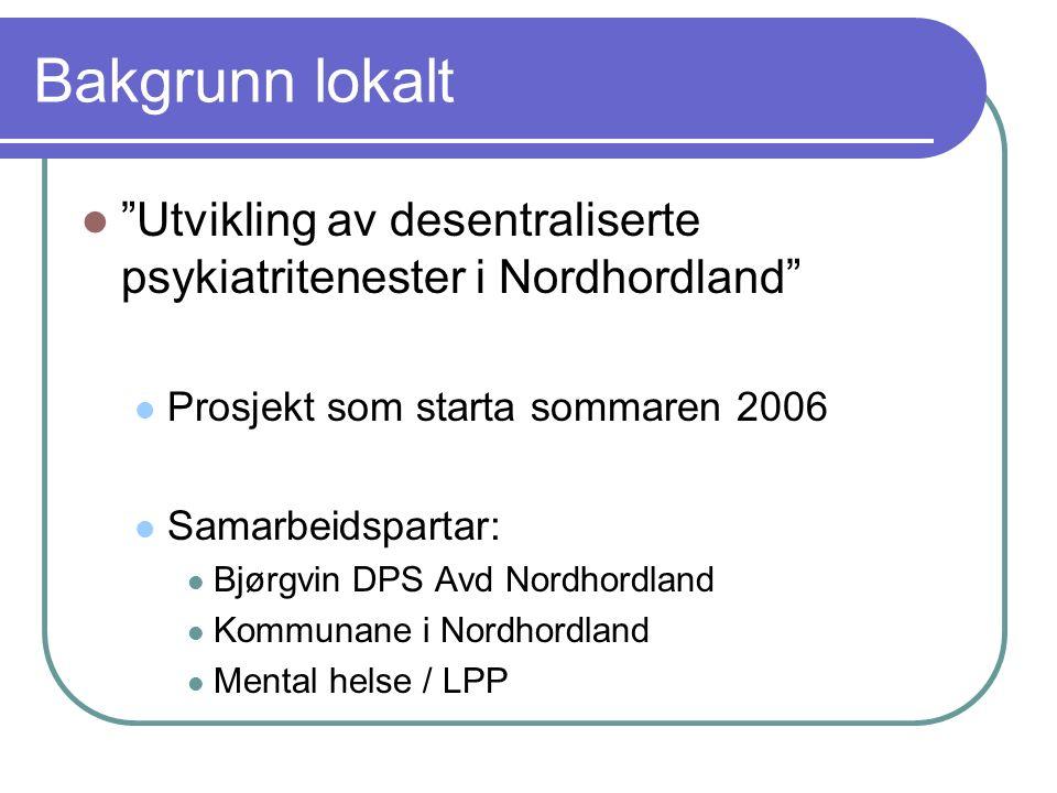 Resultat hittil… Etablering av Radøy interkommunale busenter (RIB) oktober 2008 – 9 plassar, p.t.