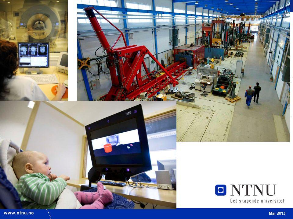 4 Forskning – vår grunnpilar NTNUs fundament: Teknisk-naturvitenskapelig hovedprofil Faglig bredde Tverrfaglig samarbeid Mai 2013 FORSKNING OG KUNSTNERISK VIRKSOMHET