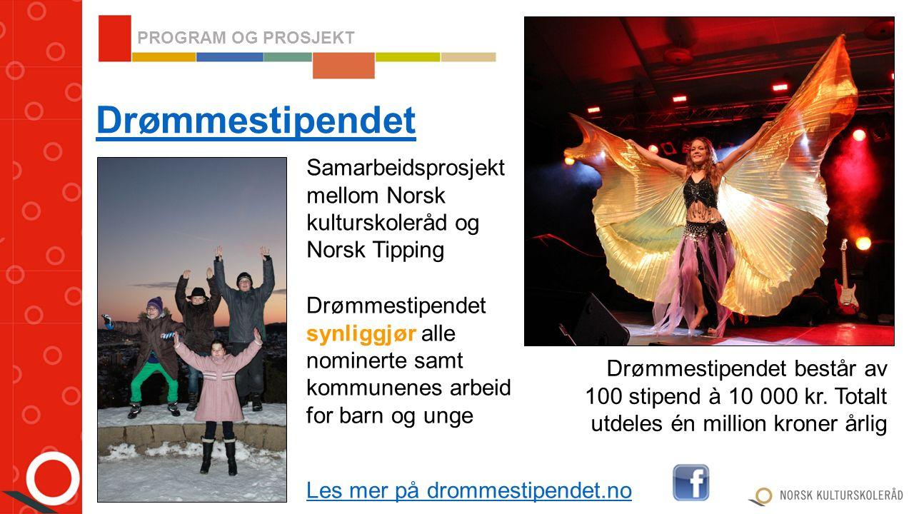 Dette er kulturskoleutvikling gjennom produksjon og formidling I samarbeid med utvalgte kulturskoler foredles og videreutvikles kompetanse på området Nordea-prosjektet KUL-TUR PROGRAM OG PROSJEKT