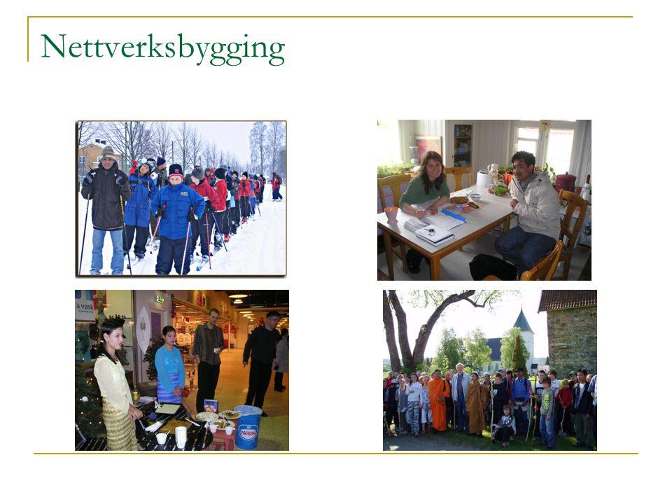 Nettverksbygging  Samarbeid med lokalmiljøet