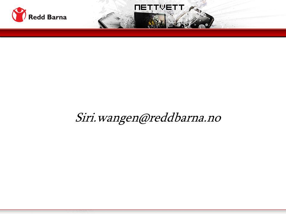 Siri.wangen@reddbarna.no