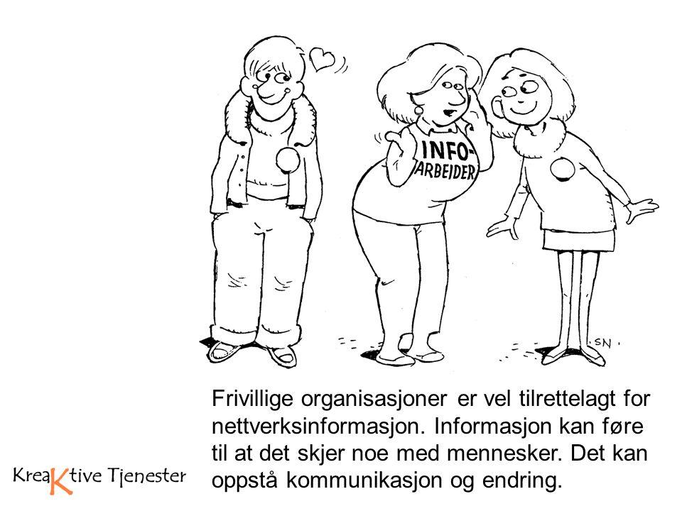 Frivillig arbeid: Bygger sosiale nettverk Forvalter av sosial kapital Agenter for myndiggjøring (Empowerment) Makro- og mikronivå