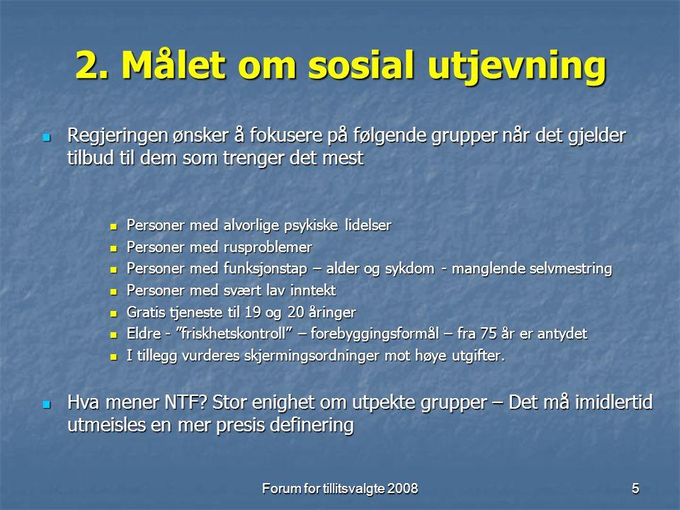 Forum for tillitsvalgte 20086 3.
