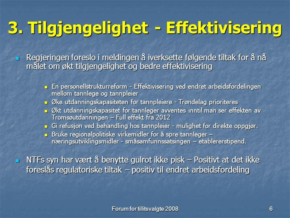 Forum for tillitsvalgte 20087 4.