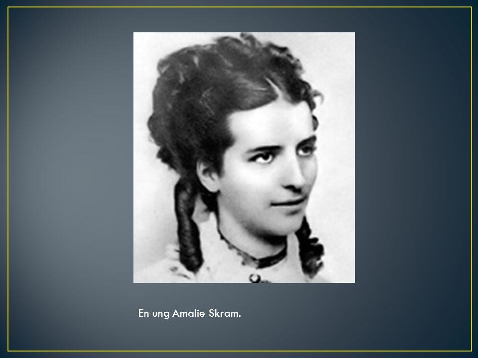 En ung Amalie Skram.