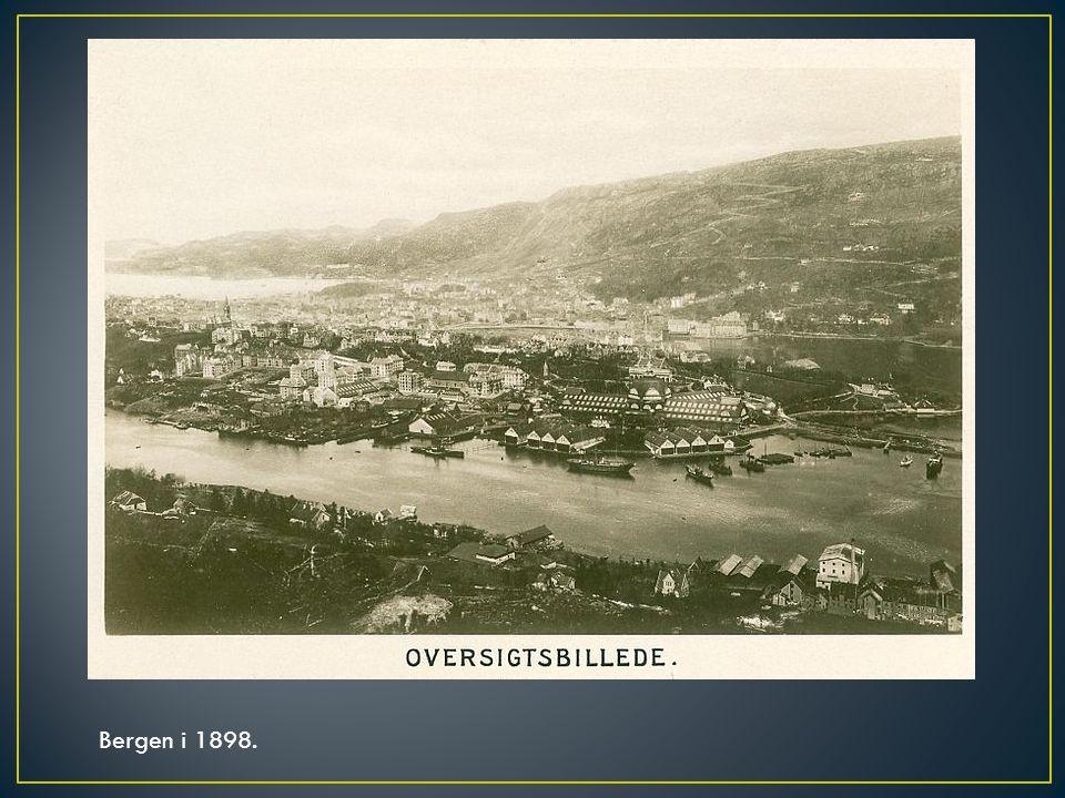 Bergen i 1898.