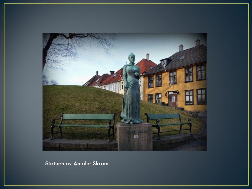 Statuen av Amalie Skram