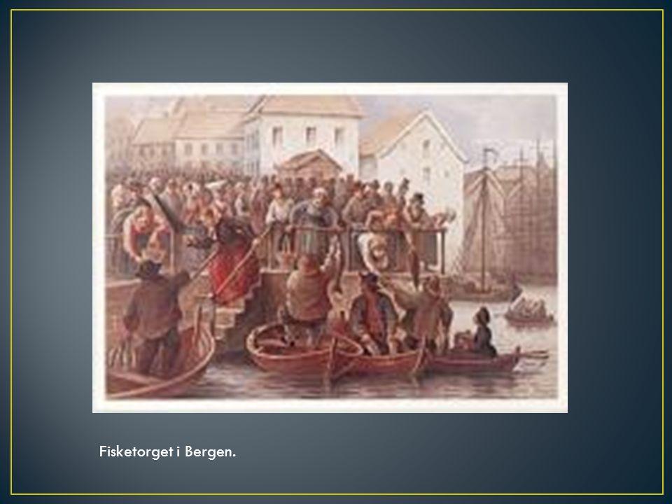 Fisketorget i Bergen.