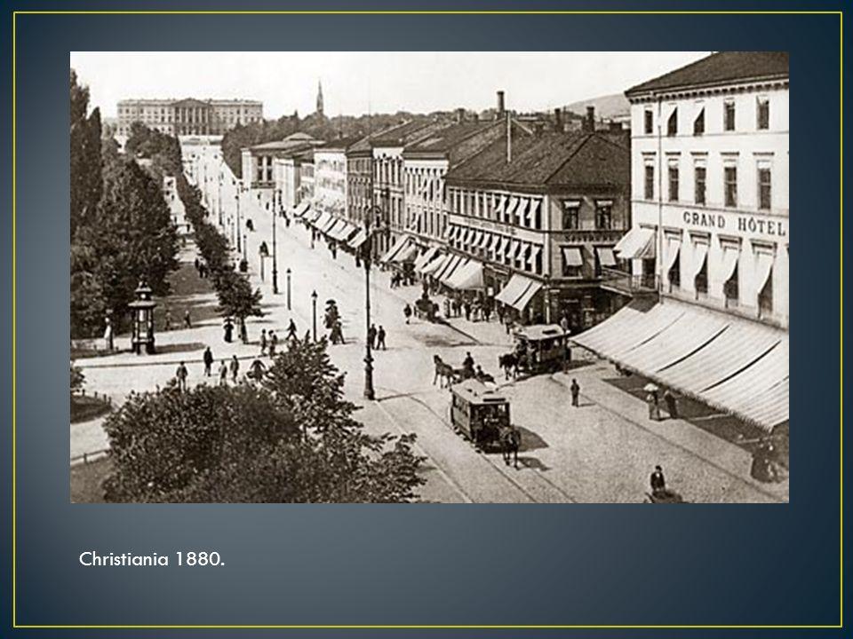 Christiania 1880.