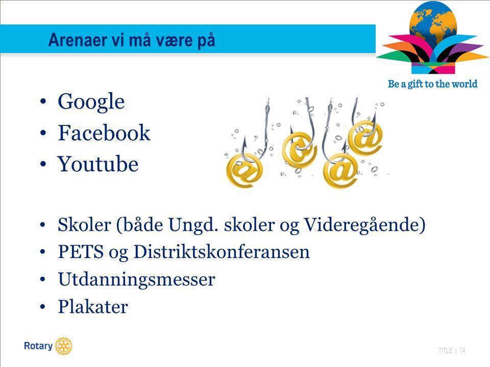 TITLE | 14 Google Facebook Youtube Skoler (både Ungd.