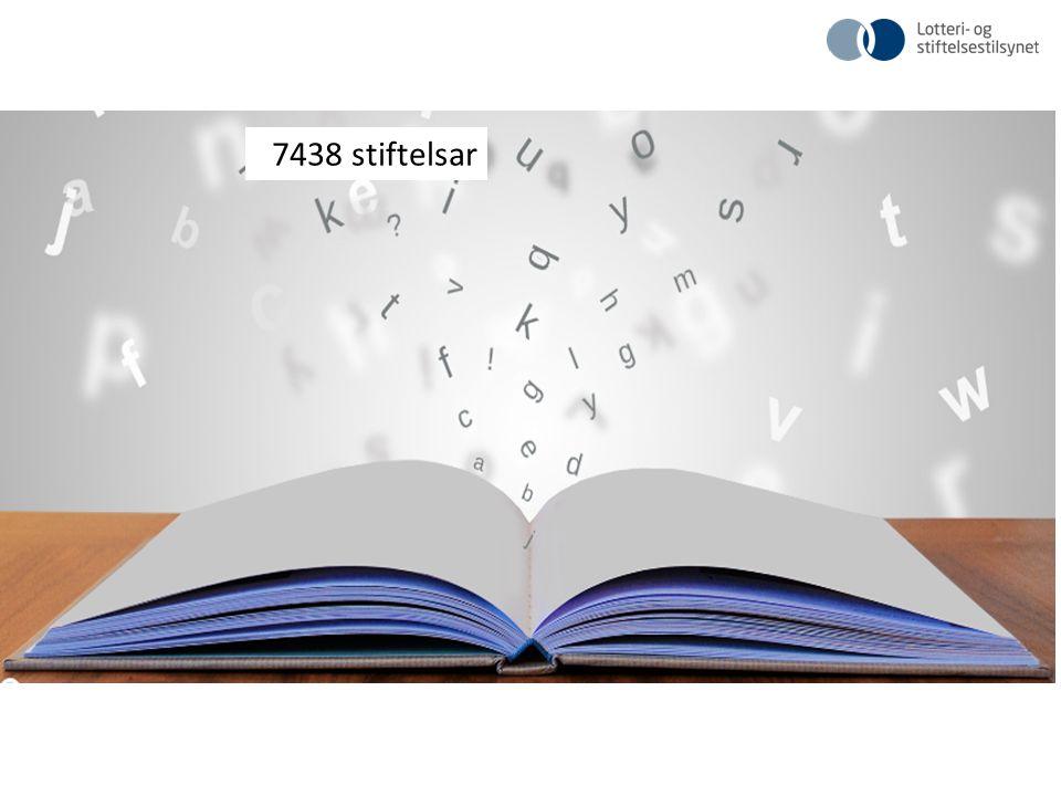 7438 stiftelsar