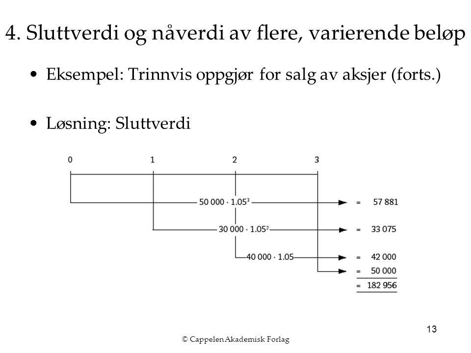 © Cappelen Akademisk Forlag 13 4.