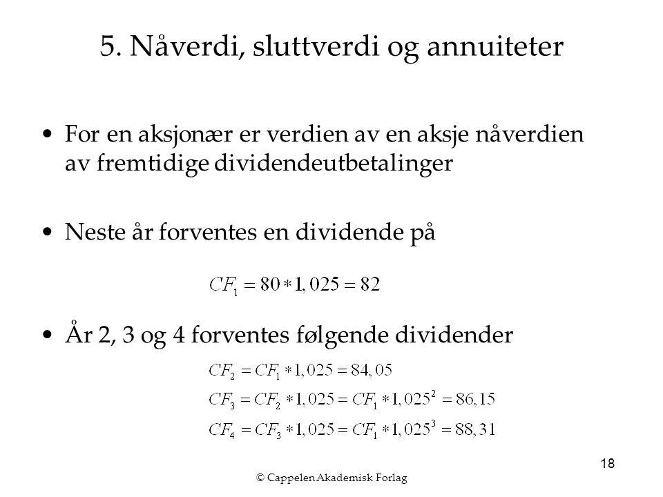© Cappelen Akademisk Forlag 18 5.