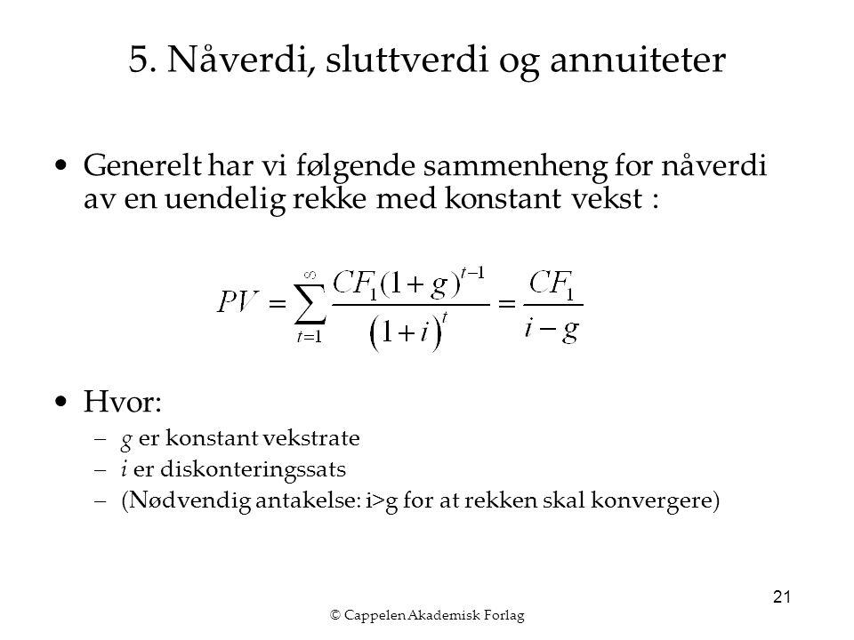© Cappelen Akademisk Forlag 21 5.