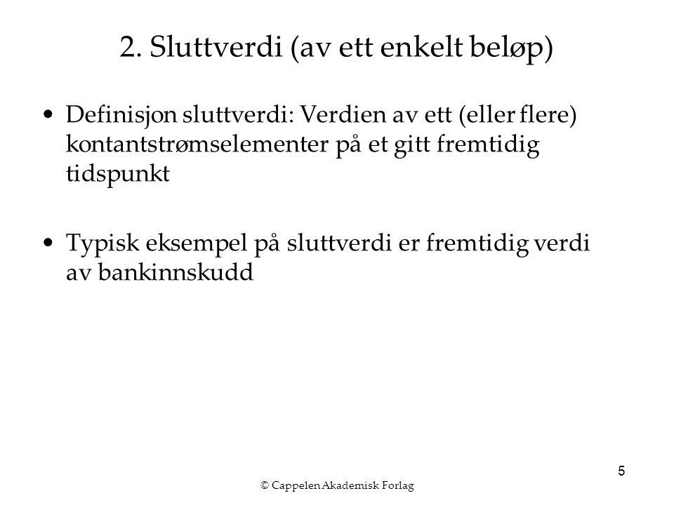 © Cappelen Akademisk Forlag 5 2.