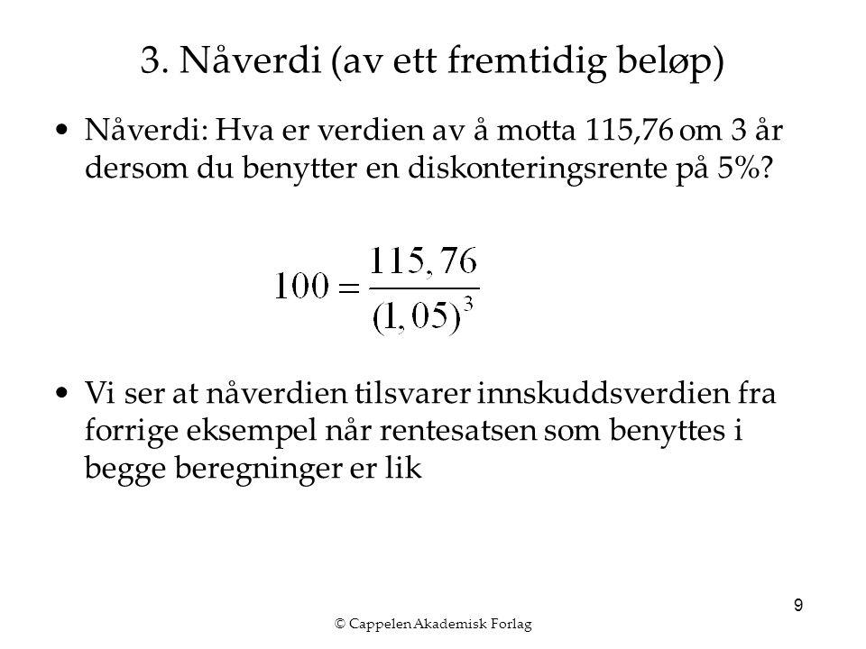© Cappelen Akademisk Forlag 9 3.