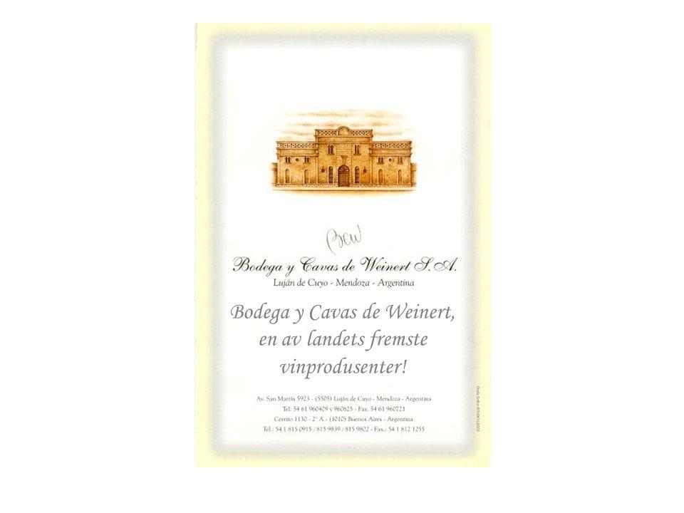 Bodega y Cavas de Weinert, en av landets fremste vinprodusenter!