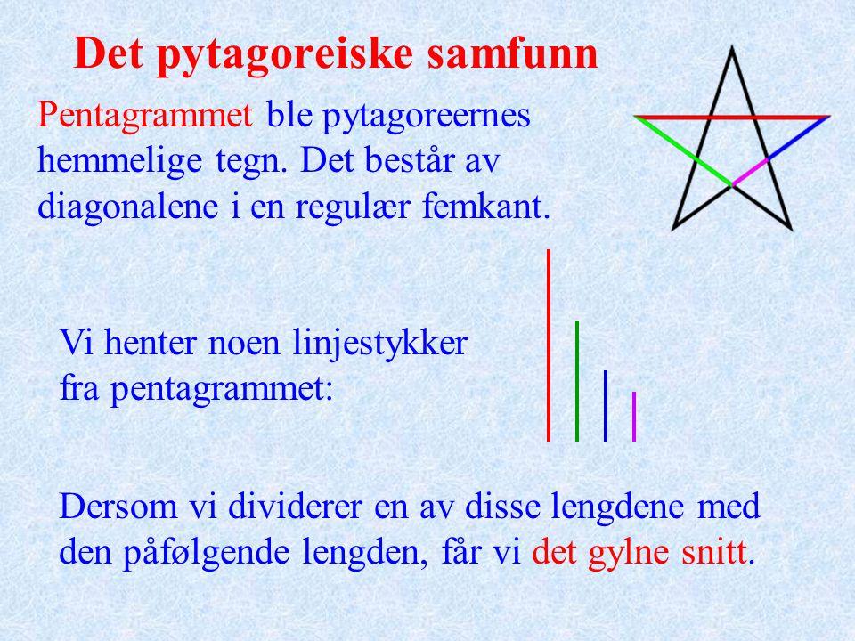 Pytagoras' setning.