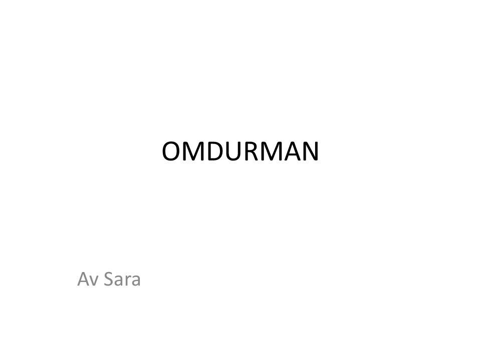 OMDURMAN Av Sara