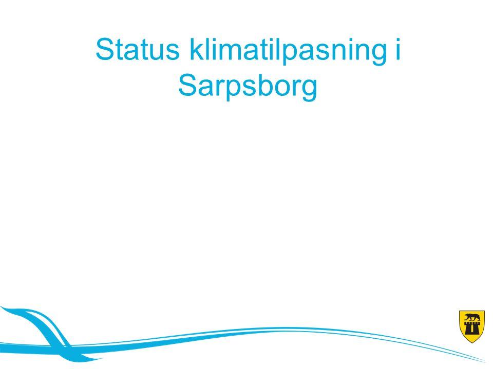 Status klimatilpasning i Sarpsborg