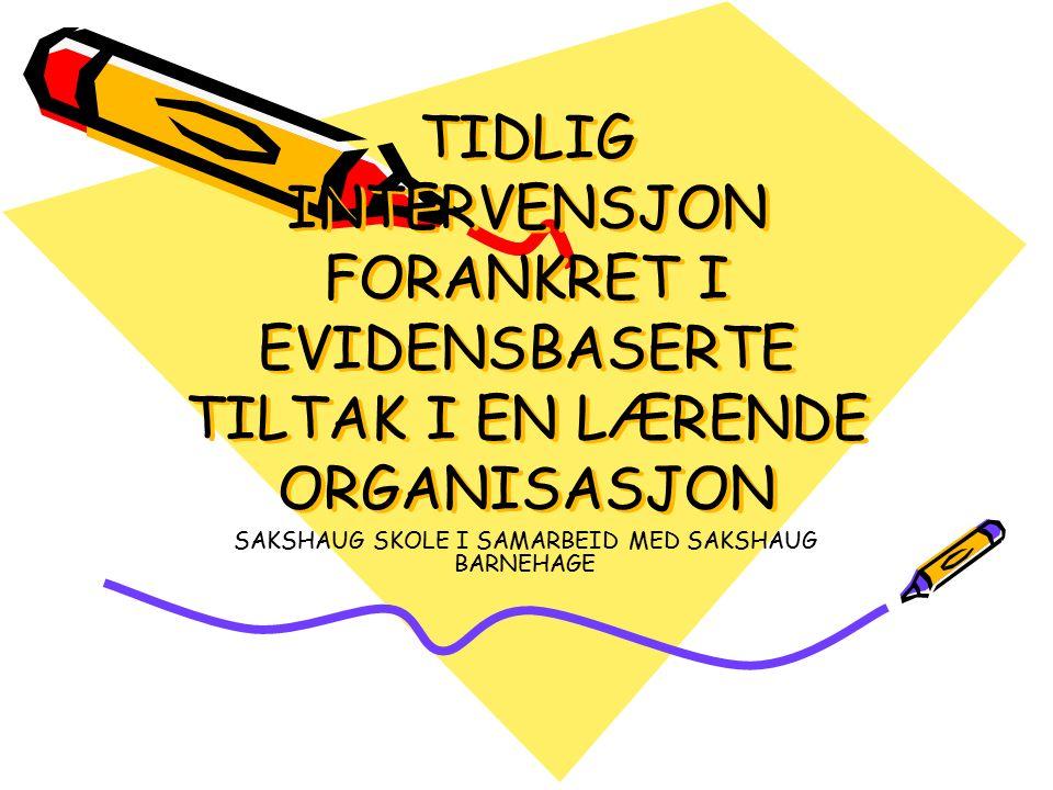 OPPFØLGING AV LESEUTVIKLINGA PÅ 3.–7.
