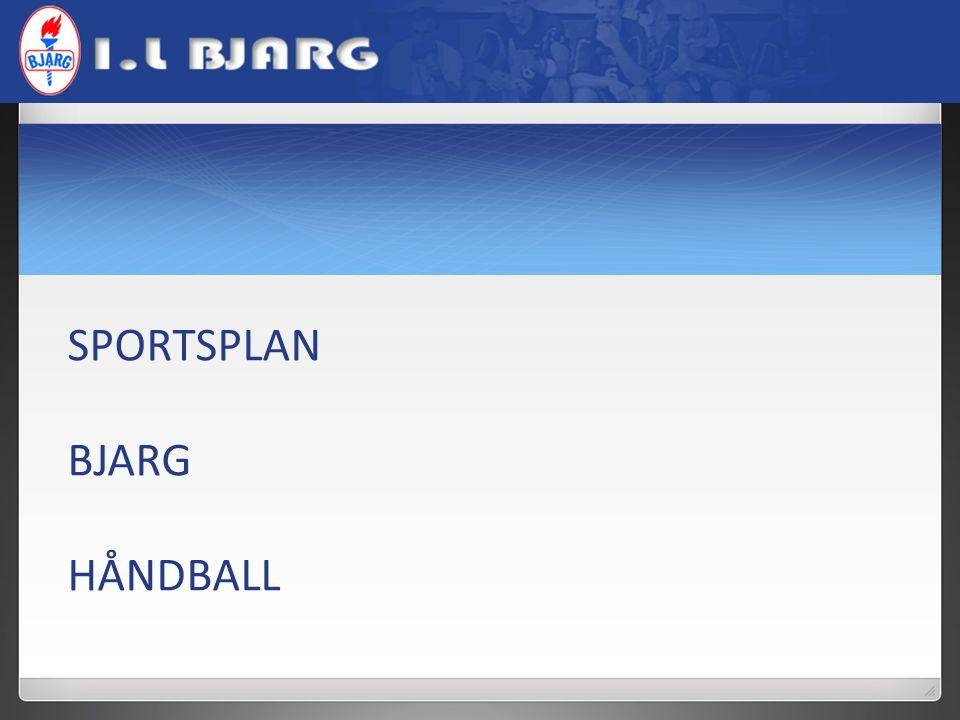 SPORTSPLAN BJARG HÅNDBALL