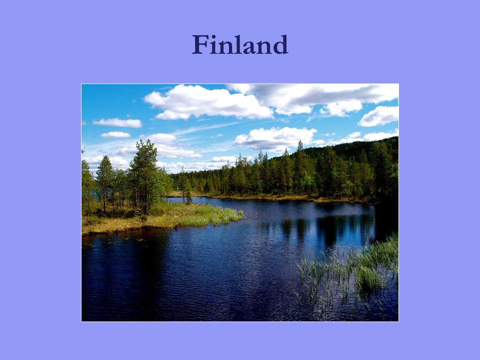 Dei eldste spora etter menneske i Finland er 8000 – 10 000 år gamle.