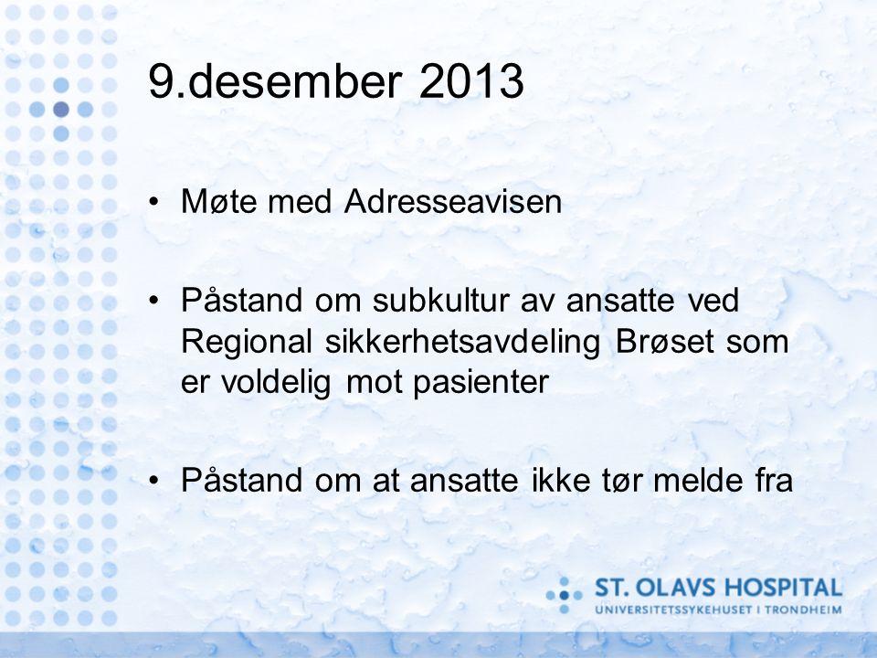 12.desember 2013 Allmøte.