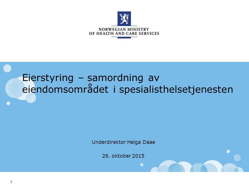 Norwegian Ministry of Health and Care Services Engelsk mal: Startside Tips norsk mal Klikk på utformingsfanen og velg DEPMAL – norsk. Eller velg DEPMA
