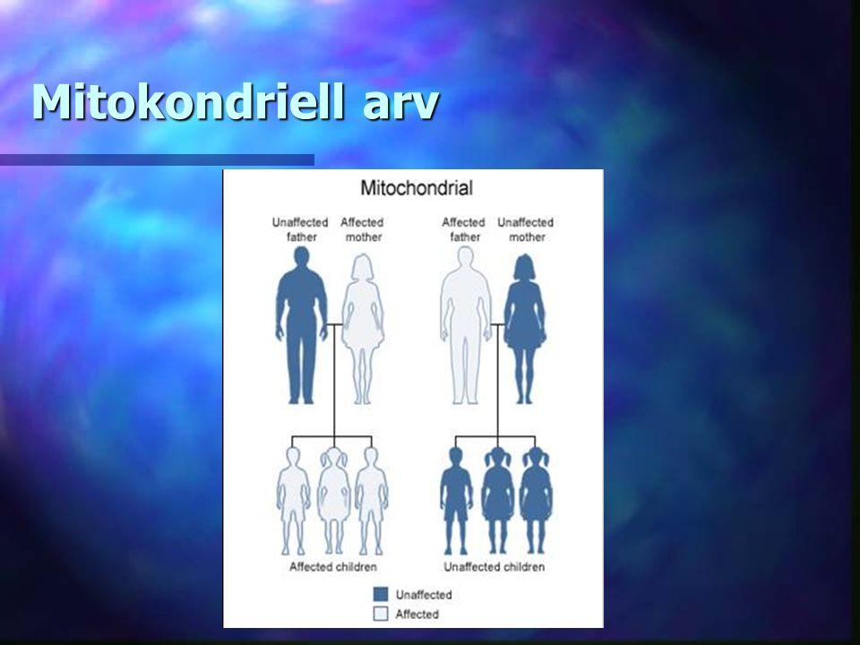 Mitokondriell arv