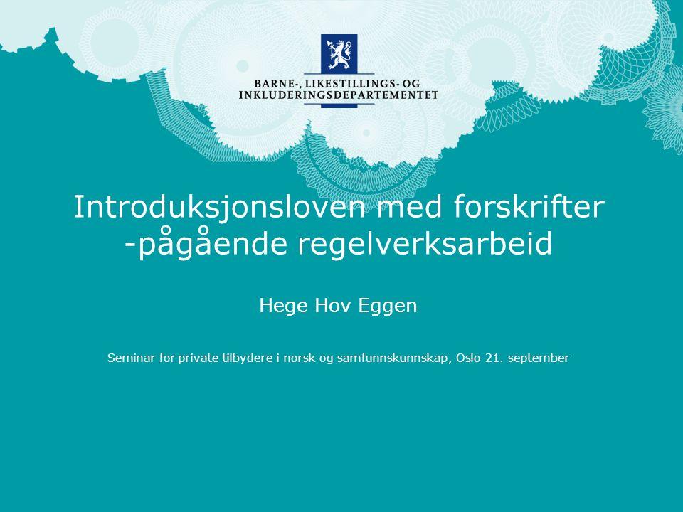 Norsk mal: Startside engelsk mal Velg BLD MAL– engelsk under oppsett .