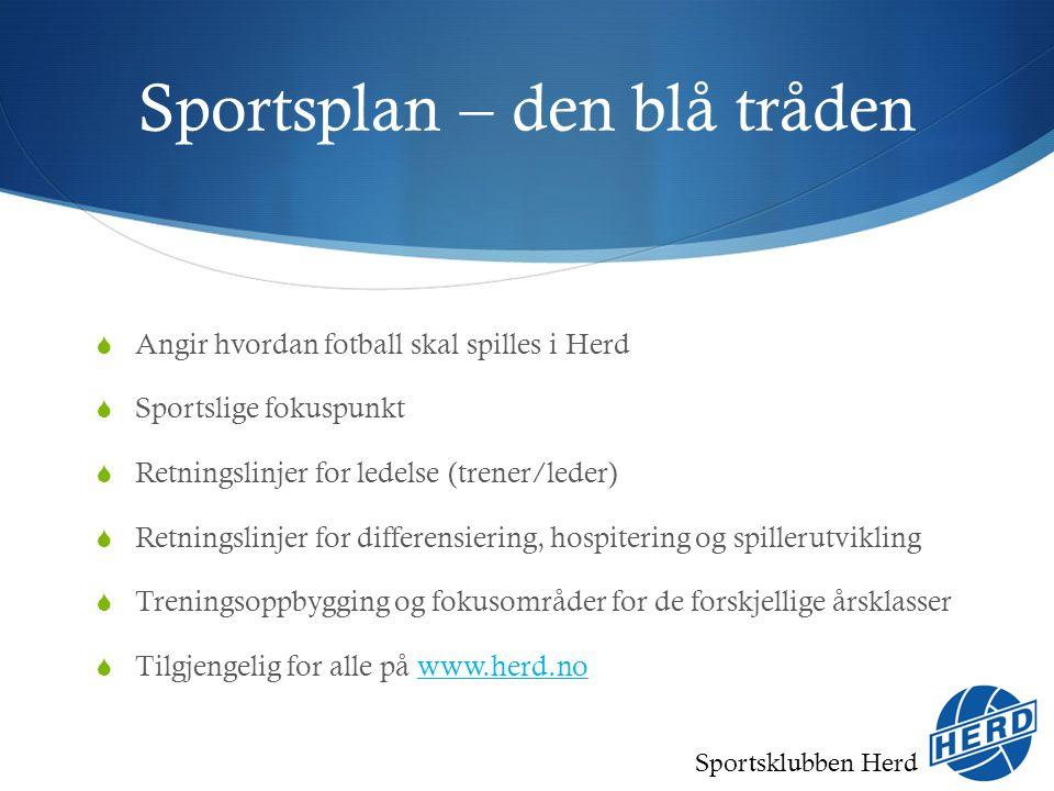 Sportsklubben Herd Herd fotballakademi  SFO-trening en gang i uka (1.-3.