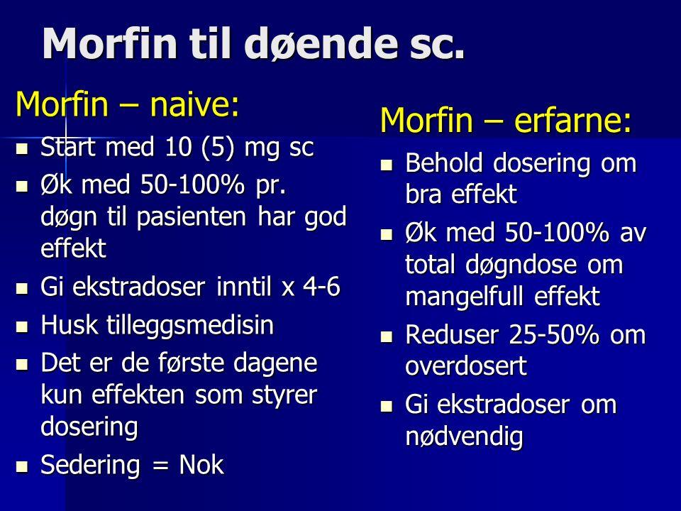 Morfin til døende sc.