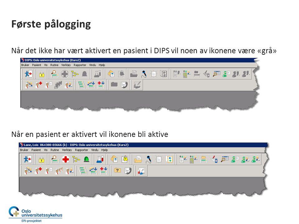 Innstillinger på brukerrollen 1.Gå inn på Bruker | Innstillinger 2.