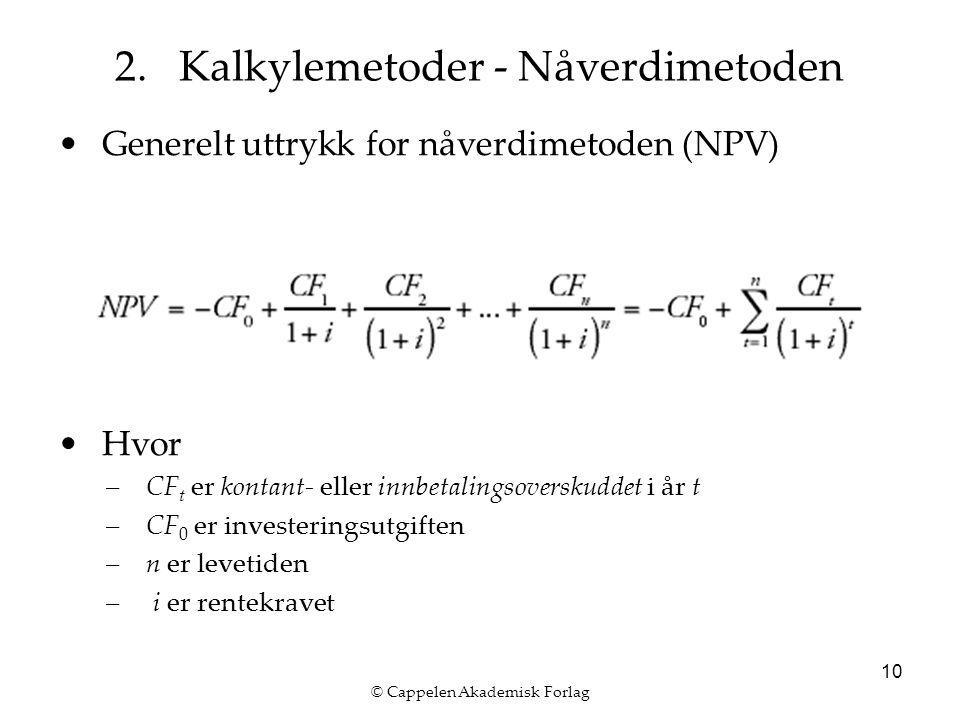 © Cappelen Akademisk Forlag 10 2.