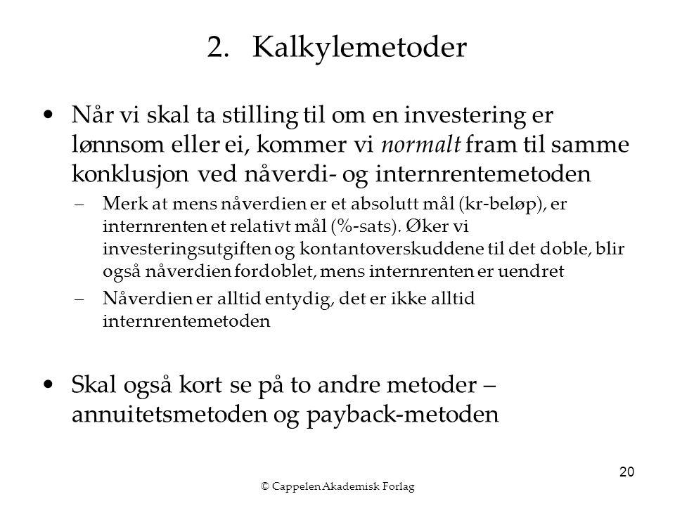 © Cappelen Akademisk Forlag 20 2.