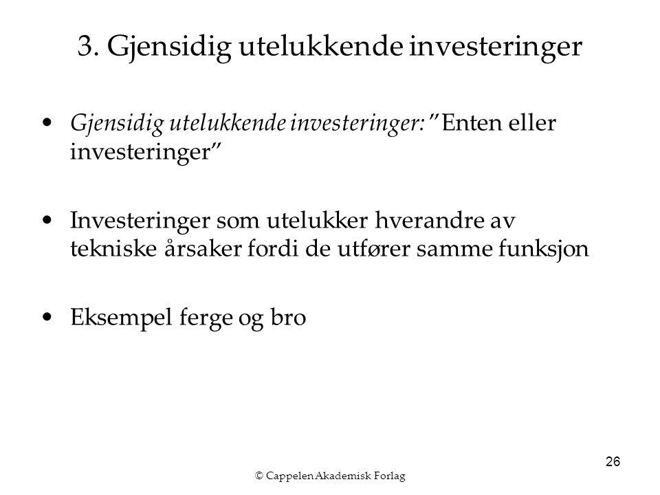 © Cappelen Akademisk Forlag 26 3.