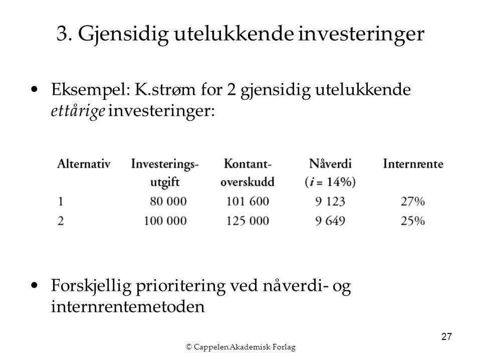 © Cappelen Akademisk Forlag 27 3.