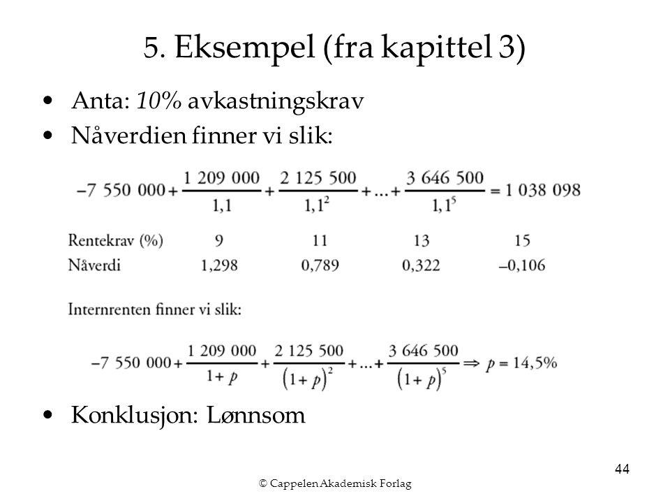 © Cappelen Akademisk Forlag 44 5.