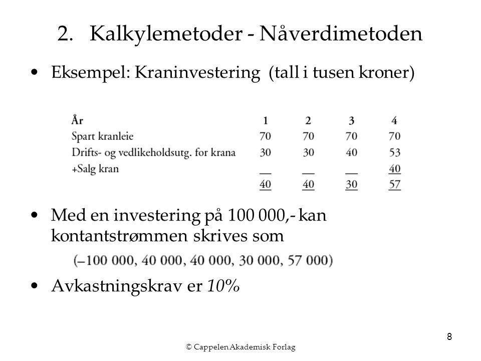 © Cappelen Akademisk Forlag 8 2.