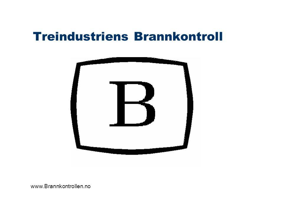 Treindustriens Brannkontroll Rapportering Oppsummering av resultat i skjemaform