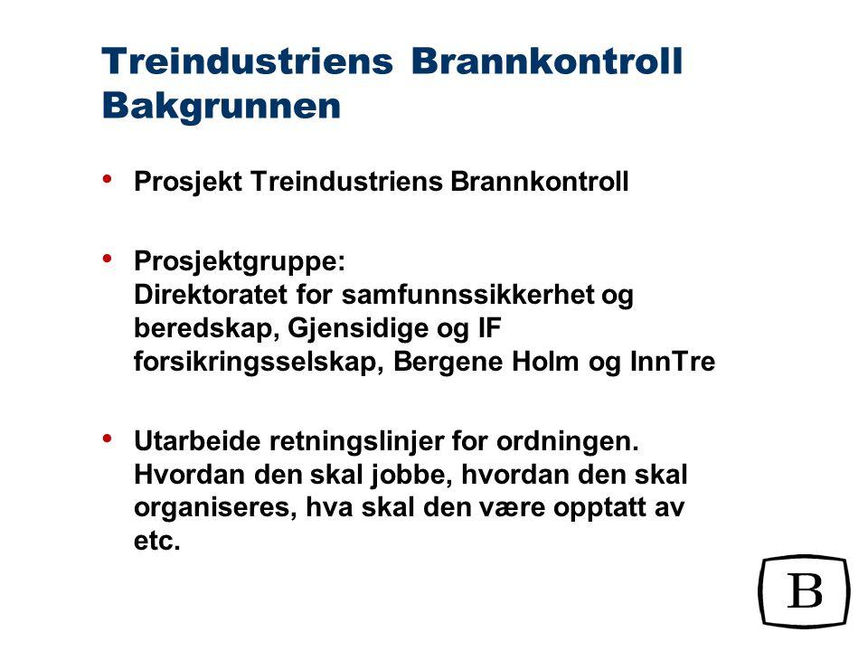 Treindustriens Brannkontroll Ingen innmeldingsavgift Årlig tilknytningsavgift kr. 25.000