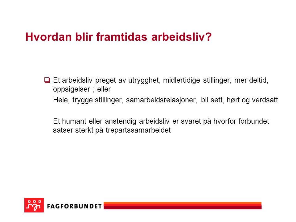 Fagforbundets spesielle oppgave  Forsvare offentlig drift og helhetstenkning  Hva blir framtidas kommune.